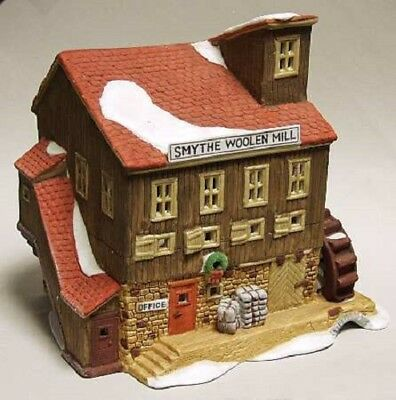 Department 56 New England Village SMYTHE WOOLEN MILL Limited Edition #950/7500