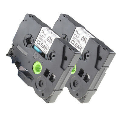 Black TZ-231 TZe-231 Compatible for Brother P-touch Laminated Label Tape 12 mm *