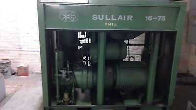 Sullair LS-16 75 HP Air Compressor - Price Reduced