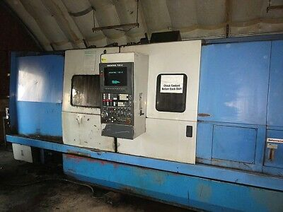 1990 Mazak Slant Turn 40 Cnc Lathe Turning Center Beautiful Machine! No Reserve!