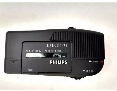 Philips Executive Professional 494 Mini Pocket Cassette Recorder Dictaphone