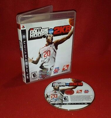 2K Sports College Hoops 2K8 (Sony PlayStation 3 PS3, 2007)