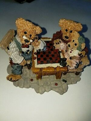 Boyds Bears & Friends BearStone Collection Grenville With Matthew/ Bailey #2281