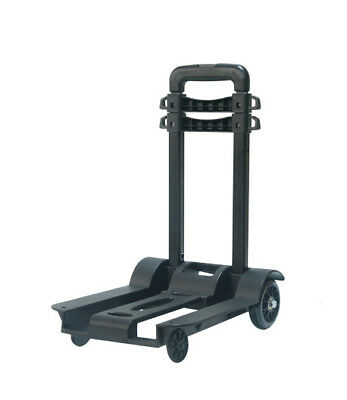 D33 Rugged Aluminium Luggage Trolley Hand Truck Folding Foldable Shopping Cart