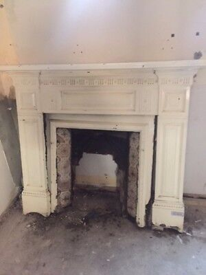 Cast Iron Victorian Fire Place and Surround