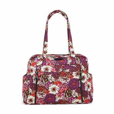 NEW Vera Bradley Large Stroll Around Baby Diaper Bag & Changing Pad in Rosewood