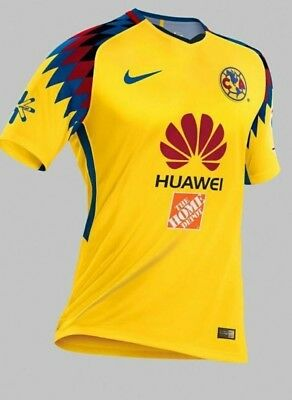 CLUB America Yellow Home 100 Anniversary Edition 16-17 Men Jersey ... 4ded15cc1