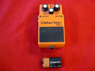 Boss Audio DS-1 Distortion Guitar FX Effect Pedal