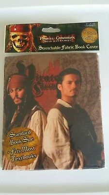 Pirates of the Carribean Standard Size Book Cover - Fits Most Textbooks