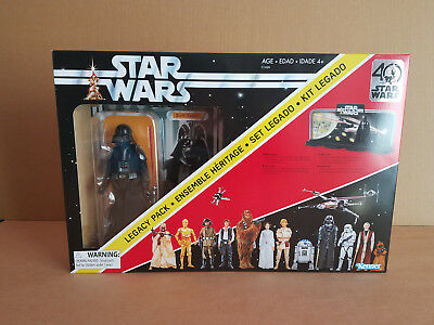 "Star Wars 40Th Anniversary Black Series 6"" Darth Vader Legacy Early Bird Mib"