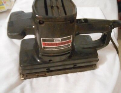 Vintage Sears Craftsman Dual Motion Double Insulated Belt Sander 315 11690