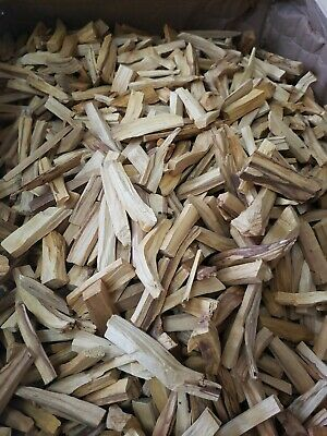 PALO SANTO CHIPS NATURAL INCENSE ON SALE 1 lb (Bursera Graveolens)