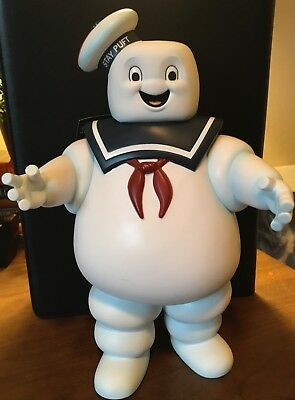 """Ghostbusters 12"""" Stay Puff Marshmallow Man Bank Diamond Toys New w/Tag 2009"""