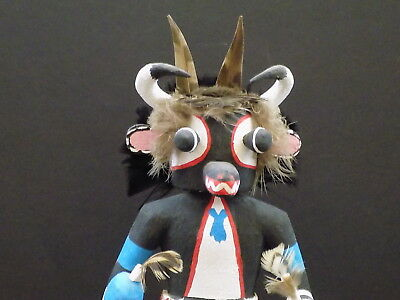 Vintage Hopi Cow Kachina By Emory Pohuma