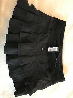 """Ivivva """"Set the Pace"""" skort. Black, girls size 8... Gently used."""
