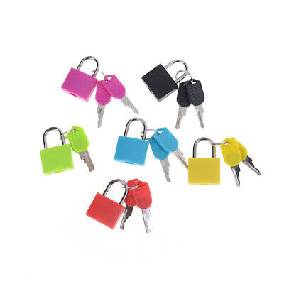 Hot sale Small Mini Strong Steel Padlock Travel Tiny Suitcase Lock with 2 Key LJ