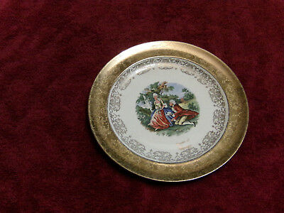 Souvenir of Chicago Vintage Collector Plate Crest-o-Gold by Sabin REDUCED !
