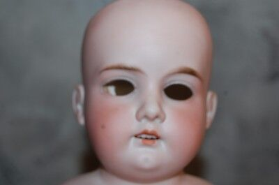 Antique A M 3 DEP 370 Bisque Porcelain Doll Head Germany Armand Marseille Old