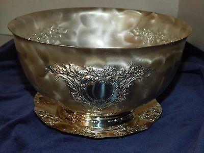 WMF Ikora Brushed SILVER PLATED BOWL & Quist SMALL PLATE Tarnish Resistant