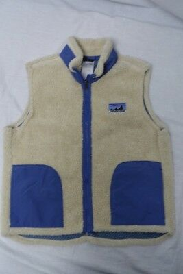 Patagonia Boys Girls Retro Fleece Vest Sz-M (10)
