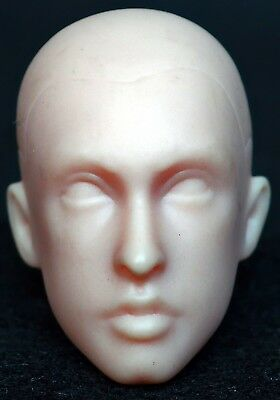 1/6 scale unpainted action figure head sculpt hot dam toys custom soldier dx
