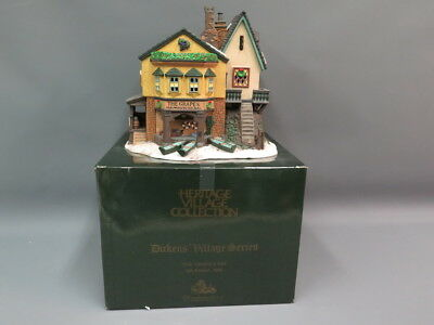 Dept. 56 Heritage Village Dickens' Series The Grapes Inn 5th Edition 1996