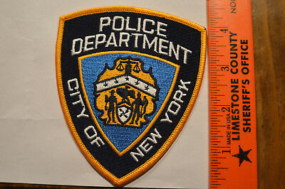 New York City Police NYPD Patch #1124