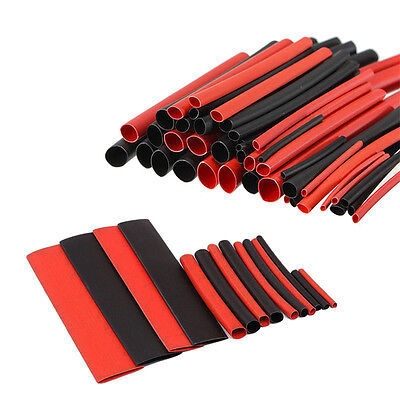 150pcs 2:1 Polyolefin Heat Shrink Tubing Tube Sleeving Wrap Wire Kit Cable LJ