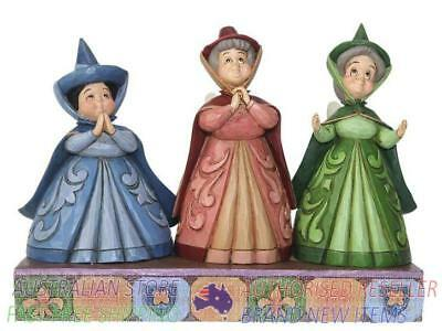 Jim Shore Disney Traditions AURORA'S THREE FAIRY GUARDIANS - ROYAL GUESTS 405...