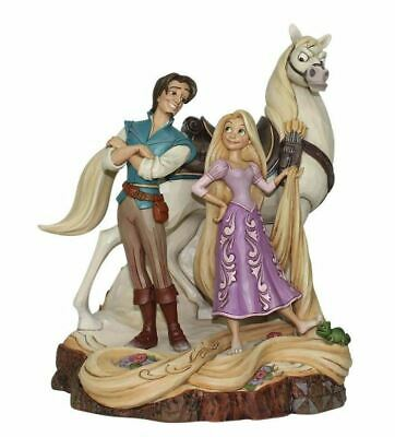 Jim Shore Disney Traditions TANGLED CARVED BY HEART - LIVE YOUR DREAM 4059736
