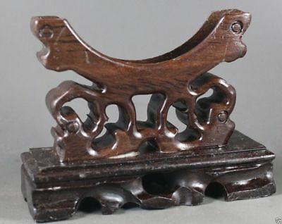 Chinese wood stands for bangle ,hairpin or sword