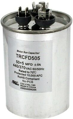 Lennox 89m74 6x 35//5 MFD 440 Volt Dual Round Run Capacitor for Packard prcfd355