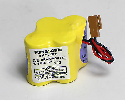 FOR Panasonic BR-2/3AGCT4A 6V battery For FANUC A98L-0031-0025 #T3327 YS