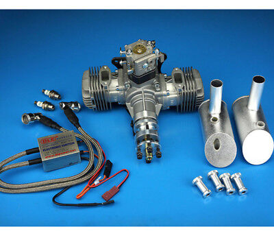 DLE 40CC Gasoline Engine With Electronic Ignition & Muffler For RC aircraft