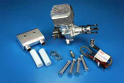 DLE 55RA Gasoline Engine With Electronic Ignition & Muffler For RC aircraft