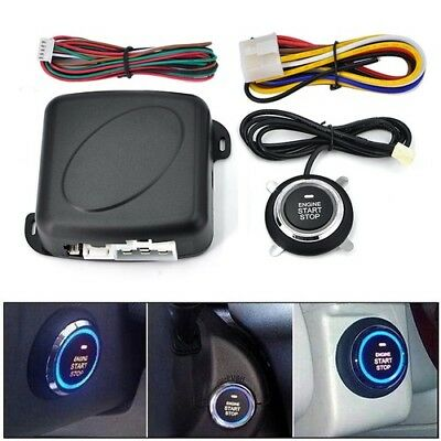 Car Accessories Keyless Entry System Start Stop Engine Remote Alarm Anti-theft