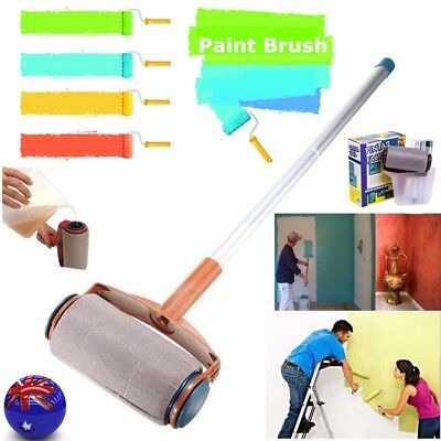 Paint Roller Tool Kit Painting Runner Edger Brush Paintar Facil Home Wall Decor