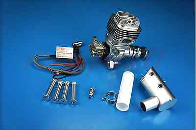 DLE 61CC Gasoline Engine W/ Electronic Ignition & Muffler For RC aircraft