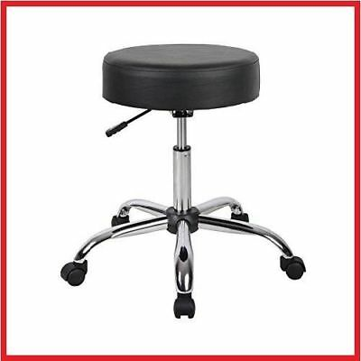 Durable Office Medical Spa Stool Furniture Adjustable Doctor Exam Chair Black