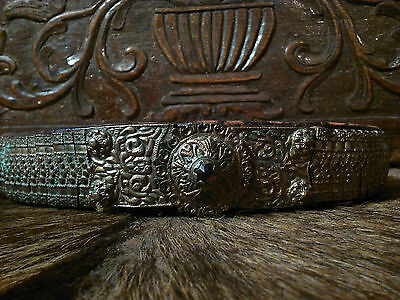 antique ottoman balkan silver alloy belt original