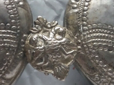 antique  ottoman bulgarian silver belt buckle original