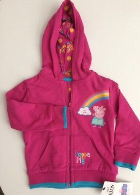 BNWT Marks And Spencer's Peppa Pig Hoodie 18-24 Months
