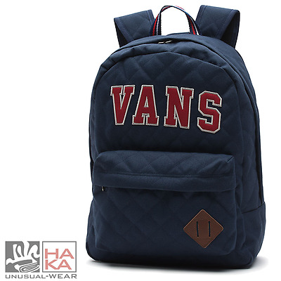 Zaino Backpack Vans Old Skool Plus Blue Unisex