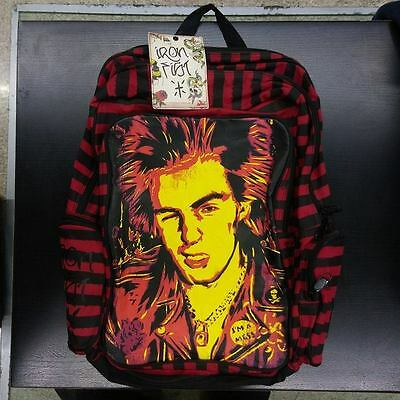 Zaino Backpack Iron Fist Sid Vicious Stripes Unisex