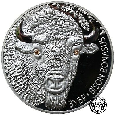 "Belarus: 20 Roubles 2012 ""Bison"" . PROOF."