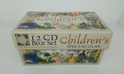 Children's Spectacular 12 Cd Box Set Classic Vintage Kids Nursery Rhymes Stories