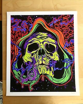 Scarecrow Oven Skull Scarecrowoven Horror Psycho Print Signed Numbered Limited