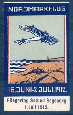 "LUFTFAHRT & ZEPPELIN VIGNETTE: Vignette zum ""Nordmarkflug 16. Juni - 2. Ju -2795"