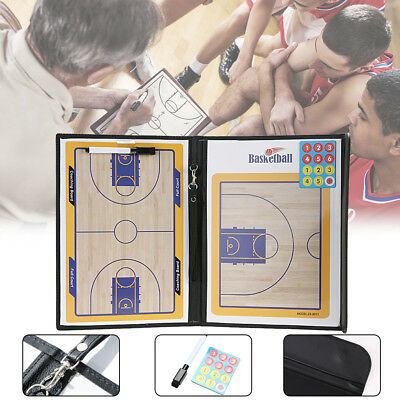 Basketball Coaching Board Coaches Clipboard Dry Erase Magnetic Board w/marker