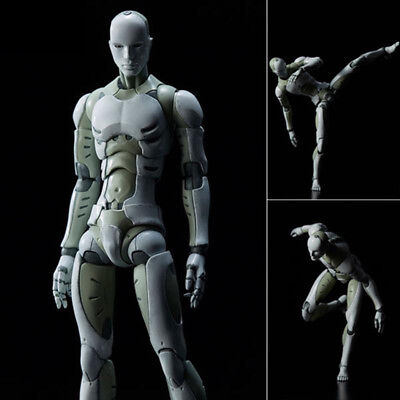 2 Versions Heavy Industries Synthetic Human 1/6 and 1/12 Scale Action Figure